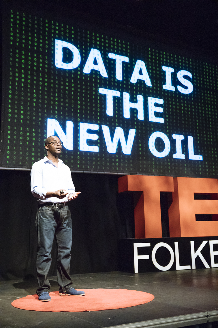 Picture of Soti Coker at TedxFolkestone - Data is the new oil