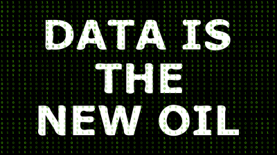 Data is the new oil [Infographic]